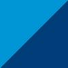 temno modra-sinje modra-bela / navy blue-cyan-white (29000)