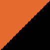 oranžna-črna / orange-black (02620)