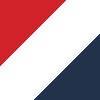 bela-rdeča-temno modra / white-red-navy blue (00410)