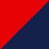 rdeča-temno modra / red-navy blue