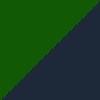 zelena-temno modra / green-navy blue (1304)