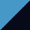 nebeško modra-temno modra / sky blue-navy blue (01180)