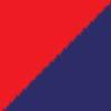 temno modra-rdeča / navy blue-red (0902)