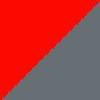 rdeča-temno siva / red-dark grey (0218)