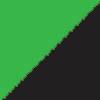 črna-fluorescentno zelena / black-green fluo (1204)