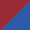 bordo rdeča-modra / granata-blue (1507)