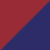 bordo rdeča-temno modra / granata-navy blue (1509)